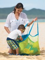 big lots tools - 45 cm Children Beach Sandy Toy Collecting Bags Outdoor Shell Organizer Bag Shells Receive big size