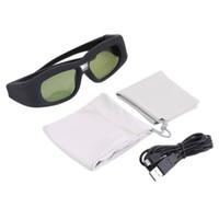 Gafas recargables gafas 3D activa del obturador 3D IR universal de Bluetooth para Sony Panasonic TV de Sharp Toshiba Samsung Projector