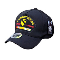 Wholesale MEGE mary Summer outdoor baseball Golf cap for man and women st CAVALRY DIVISION VETNAM cap cap for Hunting Camping Tactical Caps Hats