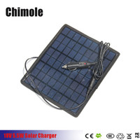 Wholesale 5W V V Portable Solar Panel Multi Purpose For V Battery Charger Solar Battery Pane Charger With Car Charger