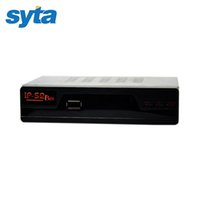 Wholesale 2016 SYTA Full HD DVB S2 Year IPTV Digital Video Broadcasting Satellite Receiver IPTV IP S2 TV Box Supports IKS With Two Remote Control