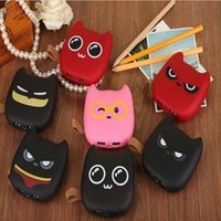Wholesale Lovely Mobile Power Bank mah powerbank little devil portable charger external Battery phone charger Cartoon Backup power