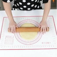 Wholesale Large Glass Fiber Platinum Silicone Dough Fondant Mat x40cm Strengthen the tear resistance non stick