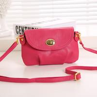Wholesale Casual Mini Crossbody Bags Small Crossbody Bags For Women Candy Colors Women Clutch Bags Mini Messenger Bag