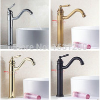 Wholesale Inch New Arrival Economical Water Faucet For Bathroom Single Handle Swivel Mixer Tap Basin Sink tap Kitchen tap