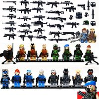 military equipment - GBL SWAT CSF Team Leader Military Equipment Counter terrorism Raid Army Building Toys Kazi