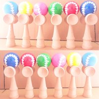 Wholesale planet006 and baseball D1 beech wood more color kendama good iridescence chromosphere and kendama pill