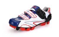 zapatos al por mayor-Santic para hombre de la bicicleta de montaña bicicleta de carreras para zapatillas deportivas zapatos de MTB Nylon Zapatillas Ciclismo