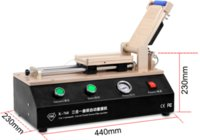 automatic edging machine - TBK Built in Vacuum Pump Automatic Curved and Flat Screen OCA Film Laminating Machine For Samsung Edge S6 S6 S7 iPhone