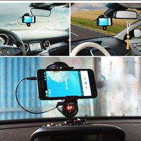 Wholesale Best Selling Bluetooth Car Kit MP3 Player FM Transmitter Bluetooth Handsfree Phone Holder Stable Sucker Clip LCD Screen