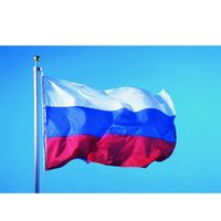 Wholesale The giant Russian flag x5ft x cm polyester Russian Federation