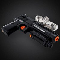 Wholesale Desert Eagle Electric Repeating Paintball Gun Pistol Soft Bullet Gun Plastic Toys CS Game Shooting Water Crystal Gun