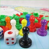 Wholesale 16 Pieces Plastic Board Game Chess mm Pawn for Board Card Accessories