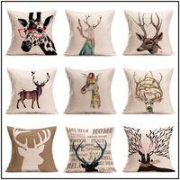 Wholesale Fashion Sequins Cushion Cover Pillow slip Pillow case Cover Home Sofa Car Décor Magic Pillow Cover B0866
