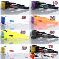 Los vidrios agradables de los nuevos hombres de la gafas de sol clásicas de los womans se divierten las gafas de sol que montan un espejo refrescan los colores libres del envío 7 del envío