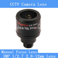 Wholesale 3 Megapixel Fixed Iris mm M12 Manual Focus Zoom MTV Lens For quot quot CCTV Security CCD Camera