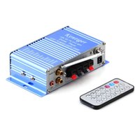 Wholesale kentiger HY400 v Hi Fi Mini Digital Motorcycle Auto Car Super Bass Stereo Power Amplifier Sound Enlarger Audio Music Player auto amplifier