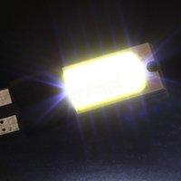 Wholesale 2pcs T10 w5w Led Cob Car v T10 Car Light Fog Lamp Interior Light Auto Led Cob Canbus Error free Light Bulbs HA10690