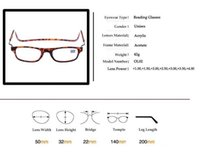 Wholesale Magnetic Reading Glasses With Diopter Men Women Spectacles Old People colors
