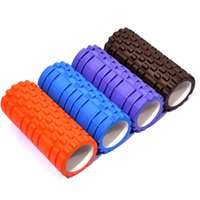 Wholesale 2016 Colors High Density Floating Point Fitness Gym Exercises EVA Yoga Foam Roller for Physio Massage Pilates Tight Muscles Yoga block