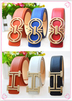 american belt buckle - The new European and American fashion boy belt children belt baby children s clothing accessories belts of the girls