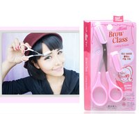 Wholesale Mini Brow Class nd Eyebrow Trimmer Eyebrows Eyebrow cutting scissors