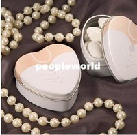 Cheap Bride groom Mint tin metal wedding favor gift box 250pairs=500pcs lot dressed to the nines wedding candy box