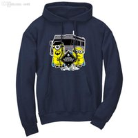 bad boy hoodie - New Breaking Bad Heisenberg Funny Minions Printed Fleece Men Hooded Punk Sweatshirt Boy London Tracksuit Plus Size Hoodies