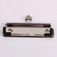 Wholesale Creative Metal cm Board Clips High Quality Metal Binder WordPad Clips School Office New Spring Clip Papelaria