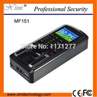 Wholesale MF151 fingerprint access control equopment MF card reader TCP IP biometric time attendance