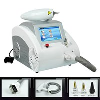 Wholesale 1000w touch screen nd yag laser beauty equipment scar freckle removal scar acne tattoo remover