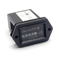 air conditioning industries - Hour meter tachometer Hour Meter gauge Timer Quartz Digits DC V For House Industry Air condition Using