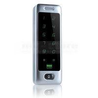 Wholesale Password Keypad KHz Rfid Card Reader for Door Access Controller System Touch Button Metal Case C40