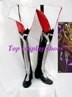 allen walker cosplay - Freeshipping custom made anime D Gray man Bondomu Jasdevi Allen Walker Cosplay Boots shoes for Halloween Christmas festival