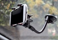 Cheap 360 Rotating Flexible Long Arm Car Phone Holder Desktop Tablet Stand For Cell Phone Self Stick Holder For Cars