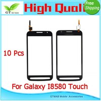 advanced panel - 10pcs good testing High quality touch screen For For Samsung Galaxy Core Advance I8580 I8582 Duos Touch Panel Digitizer