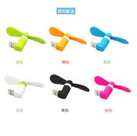 Wholesale USB Mini Fan For iPhone s c plus s s plus Multi function USB MINI Portable Fan For Android Smart Phone Port