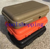 waterproof container - Large Size Outdoor Shockproof Waterproof Box Survival Case Containers For Storage Travel Kit EDC Tool Sealed Boxes