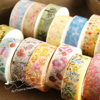 Wholesale Full Japanese and paper tape color whole volume cartoon decorative journal hand book paper hand tear