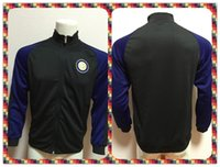 active thailand - Thailand Inter Milan Black Jacket clothes out tracksuit coat Football Suit Training Shirt soccer Jersey Jacket