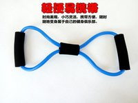 Wholesale bodybuilding shaped Chest Developer fitness equipment resistance band