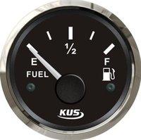 Wholesale 1pc KUS Oil Level Gauge Fuel Level Gauge V V For Boat Or Automobile Black Color