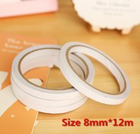 Wholesale Special Offer White Powerful Double Faced Adhesive Tape Double Sided Tape mm x M