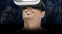 Wholesale 2016 Hot Sale Head Mount Plastic VR BOX Version VR Virtual Reality Glasses Rift Google Cardboard D Movie for quot quot Smart Phone