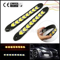 Wholesale Automobile LED super thin waterproof soft light strip highlight COB universal daytime running light day line lamp