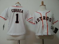 baby houston - MLB jerseys Houston Astros Baby jersey Toddler s Baseball jerseys CORREA ALTUVE freeshipping