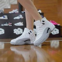 Wholesale Drop Shipping Retro GS Barons White Black Wolf Grey For Mens Women Basketball Shoes ships out within days