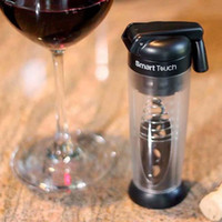 Wholesale The best Smart Touch Wine Opener Handle Folds down for storage With Stainless ABS Twist and Pull action never breaks the cork