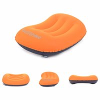 Wholesale Mini Travel Pillow Ultralight Portable Air Inflatable Pillow Outdoor CampingTravel Soft Pillow