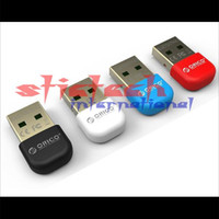 Wholesale 200 pieces New release BTA BK Low Energy Bluetooth USB Micro Adapter Dongle for Windows universal